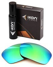 Polarized IKON Iridium Replacement Lenses For Oakley Hijinx Emerald Mirror