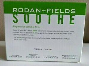 AUTHENTIC BRAND NEW RODAN+FIELDS SOOTHE 4-STEP MINI SIZE REGIMEN [EXP 03/2021]
