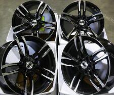 "19"" Black DMF Alloy Wheels Fits BMW 5 6 7 E34 E39 E60 E61 E63 E64 E38 M12 WR"