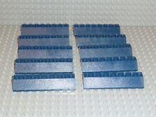LEGO® 10 x Dachstein 45° 2 x 8 Dunkelblau dark blue für City Friends Ville R1104