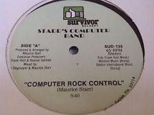 """Sealed OG 1983 Electro Vocoder 12"""" : Starr's Computer Band ~ Survivor SUD 133"""