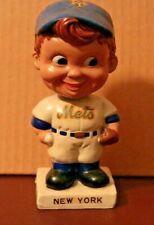 New York Mets Bobblehead White Base 1960's