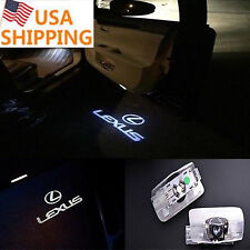 1pair Car Door Projector Welcome Ghost Shadow Led Laser Light for Lexus ES RX