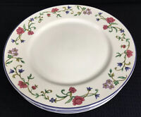 "Lenox Casual Images Rose Garden Set Of 4 Dinner Plates 11"" Made In Japan"