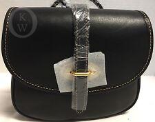 NWT~Dooney & Bourke*Black*Cristina*Florentine Satchel*Shoulder Bag*#17045E S169