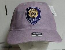 Orlando City SC Adidas  Relaxed Slouch Strapback Baseball Hat Cap! FREE SHIPPING