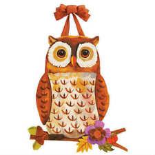 Studio M Floral Owl Door Decor
