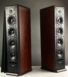 MISSION 753 Floorstanding Speakers in Rosewood Finish. 99p NR