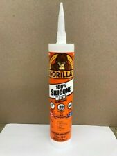 SILICONE WHITE SEALANT CAULK ALL PURPOSE WATERPROOF 10OZ TUBE GORILLA #80600