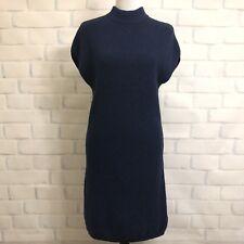 Athleta Pinewood Merino Wool Sweater Dress Size XS Blue