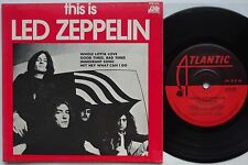 LED ZEPPELIN This Is EP Original AUSTRALIA ONLY 70s Whole Lotta Love JIMMY PAGE