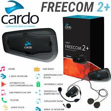 CARDO Headset FREECOM 2+ PLUS Einzelset Bike-to-Bike Intercom 0,5 km UKW Radio