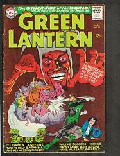 """Green Lantern #42 ~""""The Other Side of the World!"""" / Zatanna issue ~1966 (3.5) Wh"""