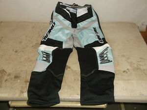 O'Neal Size 5/6 Girl Black & White Method Off-Road Pants...NEW!!!