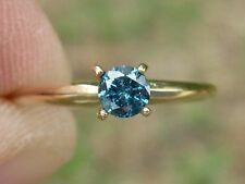 .25ct 10k SI1 EYE CLEAN NATURAL BLUE DIAMOND RING!! A LOT OF SPARKLES, BEAUTIFUL
