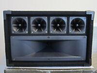 NEW DJ Tweeter Speaker.4 Piezo Horn Drivers.300w.PA.8.Pro Audio High Sound