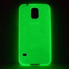 Day'n'Night Case Samsung Galaxy S5 i9600 Glow Schutz Hülle Tasche Cover TPU Grün