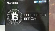 New Asrock H110 Pro BTC+ 13 GPU Mining Motherboard 1151 socket
