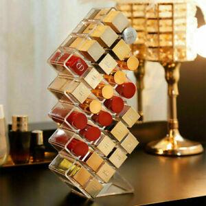 Lippenstifthalter Lipgloss Ausstellungsstand 28 Slot Acryl Makeup Organizer