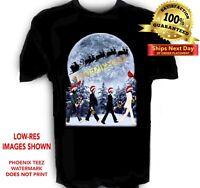Beatles Xmas t shirt Sizes S to 6x Tall Sizes
