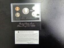 1992 US Mint SILVER Proof Set Gem Coins w/ Box & COA FREE SHIPPING