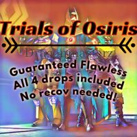 Trials Of Osiris Guaranteed Flawless Ps4/Cross-save! *Relisted*