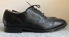 Banana Republic Wingtips, Black Leather, Size 10-1/2 D, Excellent Condition