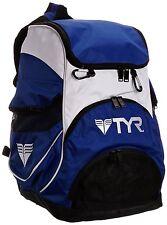 TYR Alliance Team Backpack II Swimming Bag - Royal / White