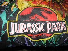 1992 Jurassic Park Sleeping Bag 54 x 28 Dilophosaurus Velociraptor