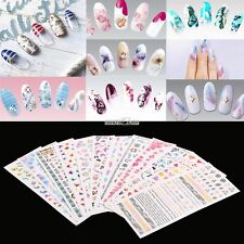 3D Water Transfer Nail Art Tips Stickers Decal Full Wrap DIY Decorations New Hot