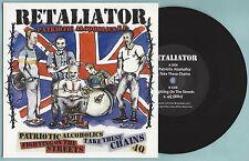 RETALIATOR - PATRIOTIC ALCOHOLICS E.P - (black vinyl)