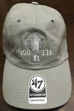PGA Championship '47 100th 2018 Bellerive Khaki Adjustable Golf Hat - Brand New