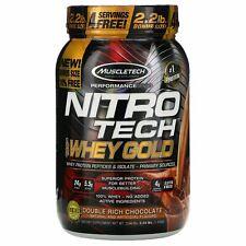 Nitro Tech, 100% Whey Gold, Double Rich Chocolate, 2.24 lbs (1.02 kg)