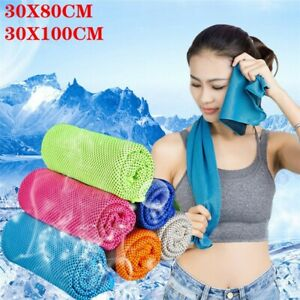 8/20X Cooling Towel ICE Cold Cycling Jogging Yoga Fitness Gym Sports Outdoor