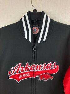 NCAA Arkansas Razorbacks Trek Jacket Womens