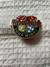 Hard Rock Cafe Four Winds Global Logo Series Pin w Dice and Poker Chips
