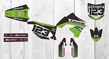 Kawasaki KXF250 Factory MX GRAPHICS 2009 2010 2011 2012 Custom Motocross Kit