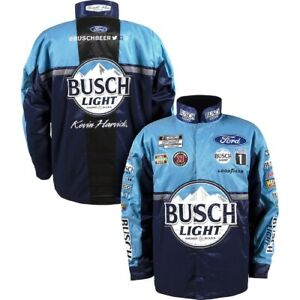 Kevin Harvick 2021 Busch Light Nascar Uniform Pit Crew Jacket Adult XL
