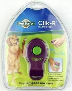 PetSafe Clik-R Dog Training Clicker Positive Behavior Reinforcer for Pets Train