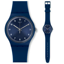 SWATCH MONO AZUL Reloj suon116 Análogo SILICONA AZUL