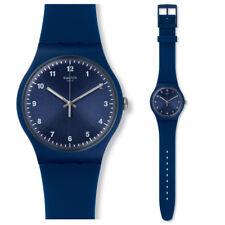 Swatch Mono Blue Uhr SUON116 Analog  Silikon Blau