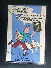 Rare carnet de note Kuifje Casterman ETAT NEUF Tintin