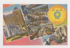 Atlantic City,NJ.Senator Hotel,4 Views,Atlantic County,Linen Advertising,c.1940s