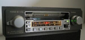 Retro 1980s Pioneer KE-4000SDK AM/FM Tape Cassette Car Radio Ferrari
