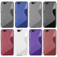 HTC One a9s-S-Style S-line TPU funda protectora protección, funda, estuche funda bolsa