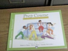 Alfred's Basic Piano Library Technic Book Level C Prep Course for Beginner