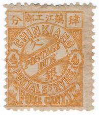 (I.B) China Local Post : Chinkiang 4c (postage due)