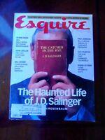 ESQUIRE MAGAZINE, JUNE, 1997, J.D. SALINGER, CATCHER IN THE RYE, BILL CLINTON!