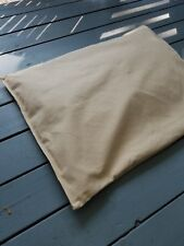 Handmade cedar chip dog bed insert or mat