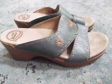Dansko LANA slide leather sandals Sz. 37 / 6.5- 7